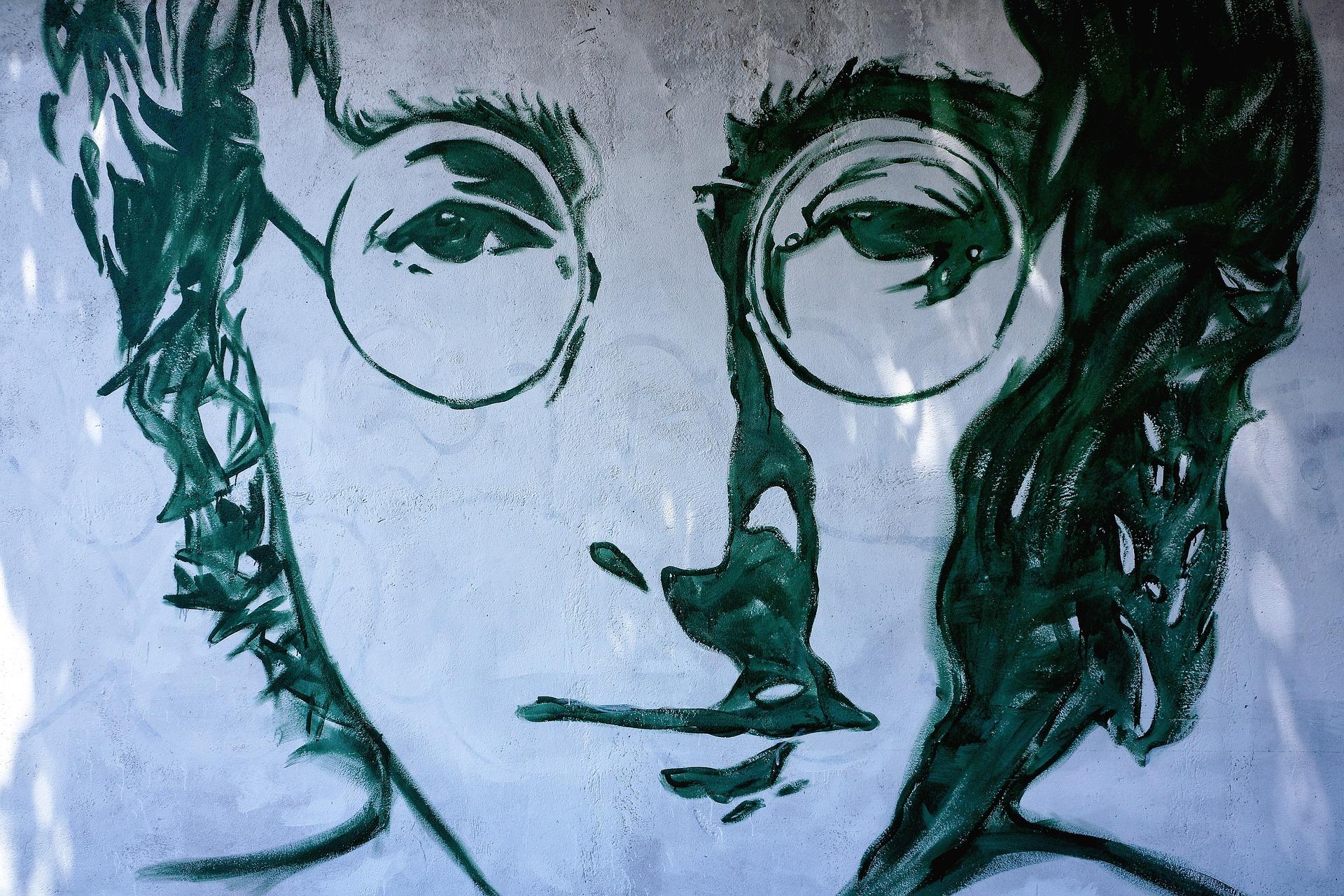 Occhiali tondi stile John Lennon - 1