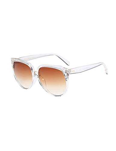 besbomig Occhiali da Sole Oversize Classico per Donna - 1
