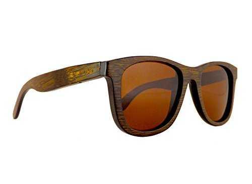 Okulars® Dark Bamboo Hazel - Occhiali in Legno di Bambù - 3
