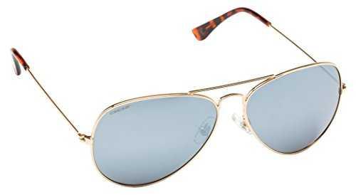 Cressi Nevada Occhiale da Sole Uomo Polarizzato, Oro/Lente Grigio - 1