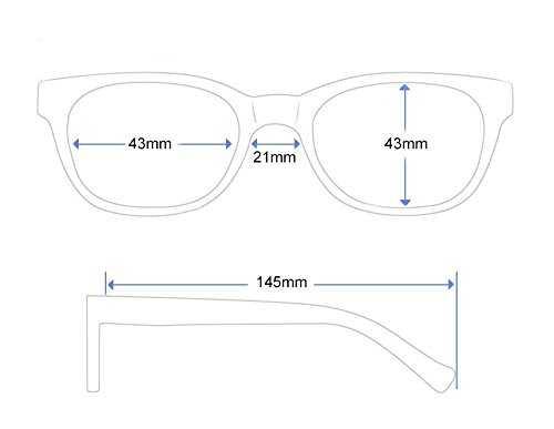 Occhiali da Sole Rotondi Stile Lennon - 3