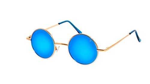 Occhiali da Sole Rotondi Stile Lennon - 1