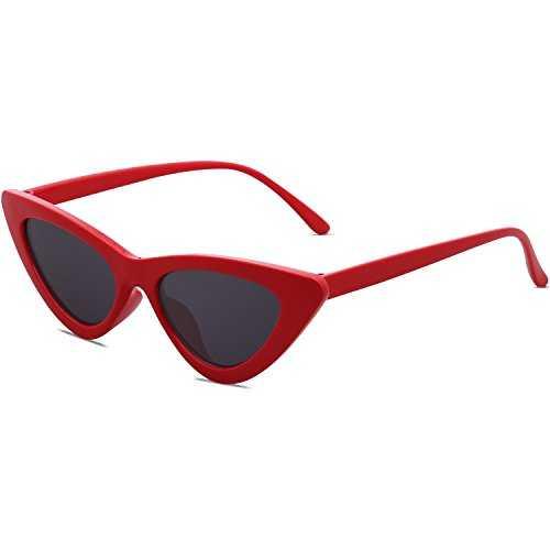 SOJOS Occhiali da Sole Occhi di gatto Retro - 3
