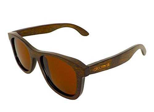 Okulars® Dark Bamboo Hazel - Occhiali in Legno di Bambù - 2
