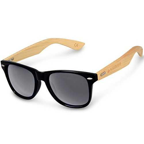 Navaris occhiali da sole in legno UV400
