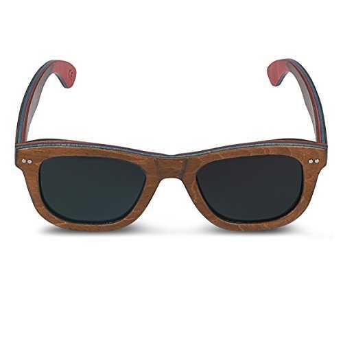Navaris occhiali da sole in legno UV400 - 7