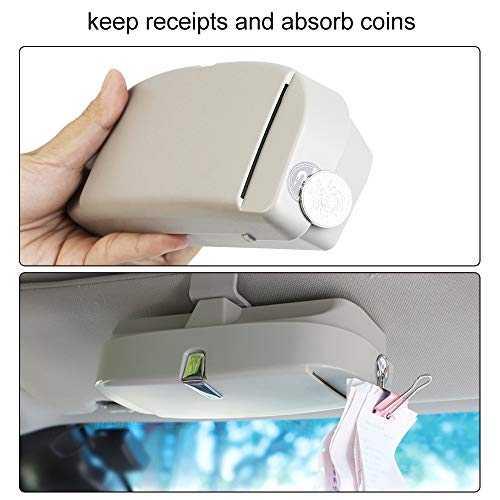 Portaocchiali magnetico per auto - 4