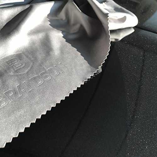 BRANDSON Panno in microfibra per la pulizia degli occhiali di qualità professionale - 7