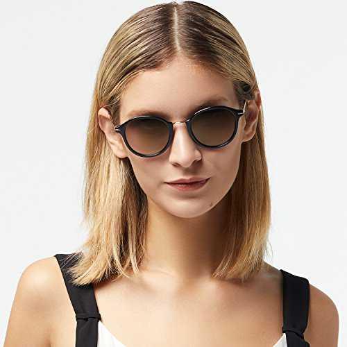 Avoalre Occhiali da Sole Vintage Style Occhiali da Sole 100% UV400 - 7