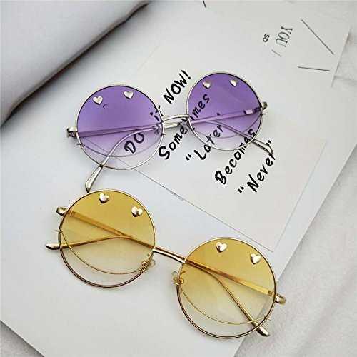 Sunyan Nuovo stile del vecchio trend occhiali rotondi - 2