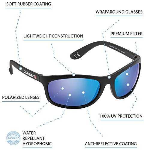 Cressi Rocker Occhiali da Sole Sportivi Uomo - 2
