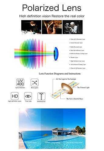 REDPEONY Occhiali da guida polarizzati uomo - 6