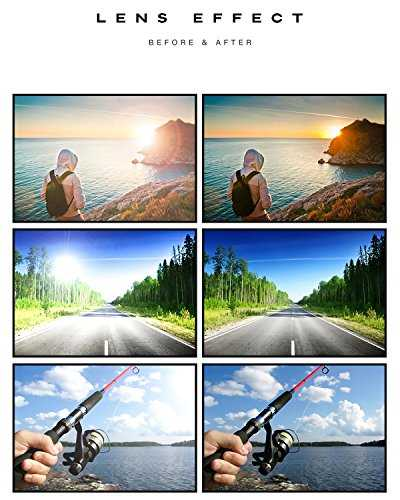 REDPEONY Occhiali da guida polarizzati uomo - 5