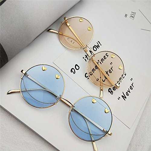 Sunyan Nuovo stile del vecchio trend occhiali rotondi - 3