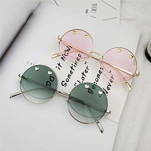 Sunyan Nuovo stile del vecchio trend occhiali rotondi - 4