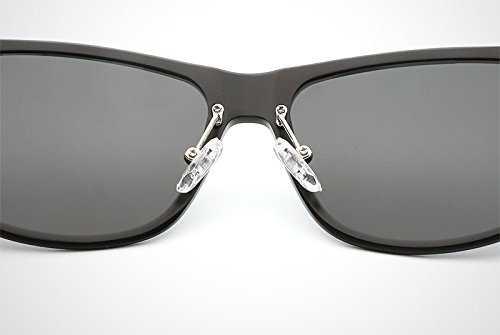 DingXW Occhiali da Sole polarizzati da Uomo UV400 - 7