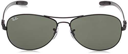 Ray Ban Uomo Rb 8301 002 (Black/Crystal Green) 59 - 2