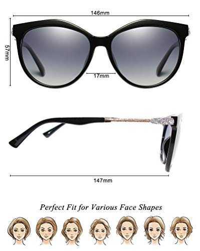 Occhiali Da Sole Polarizzati Modello Cat - Eye UV400 - 5