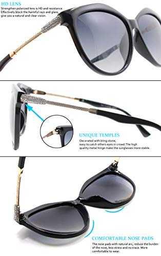 Occhiali Da Sole Polarizzati Modello Cat - Eye UV400 - 4