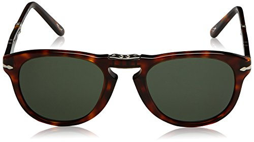 Persol Occhiali da Sole Unisex Marrone (Havana/Grey Green), 52 - 2