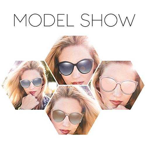 Occhiali Da Sole Polarizzati Modello Cat - Eye UV400 - 6