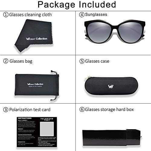 Occhiali Da Sole Polarizzati Modello Cat - Eye UV400 - 7