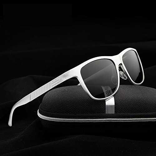 DingXW Occhiali da Sole polarizzati da Uomo UV400 - 3