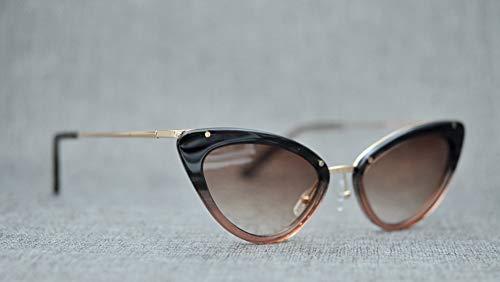 WYZBD Occhiali da Sole polarizzati Occhi di Gatto Design Occhiali - 3