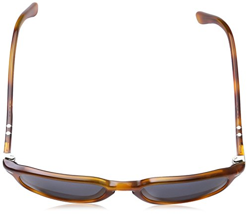 Persol Vintage Celebration Occhiali da Sole, Marrone (Light Havana/Crystal Blue), 55 Unisex-Adulto - 4