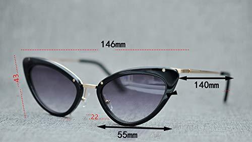 WYZBD Occhiali da Sole polarizzati Occhi di Gatto Design Occhiali - 2