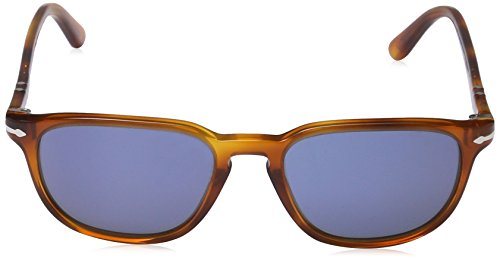 Persol Vintage Celebration Occhiali da Sole, Marrone (Light Havana/Crystal Blue), 55 Unisex-Adulto - 2