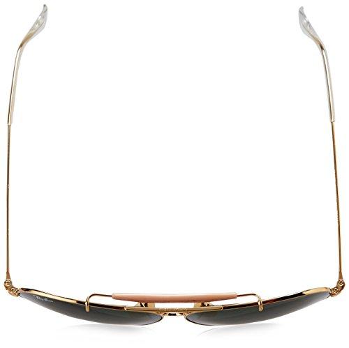 Ray-Ban Aviator, Occhiali da Sole Unisex Adulto - 4