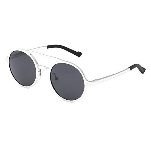 Occhiali da sole rotondi in oro nero Occhiali da sole rotondi da uomo di marca Occhiali da uomo Occhiali da sole vintage retrò da donna UV400 Stile retrò