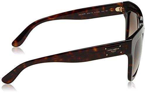 Dolce & Gabbana 0dg4286 Occhiali da sole, Marrone - 3