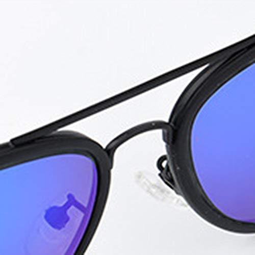 UV400 Blue retro Occhiali da sole polarizzati - 3