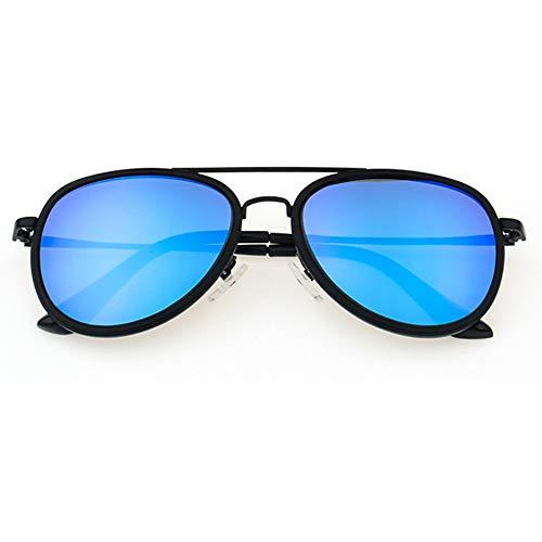 UV400 Blue retro Occhiali da sole polarizzati - 2