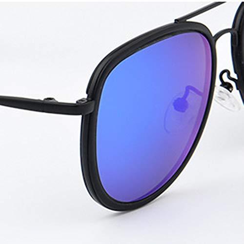 UV400 Blue retro Occhiali da sole polarizzati - 4