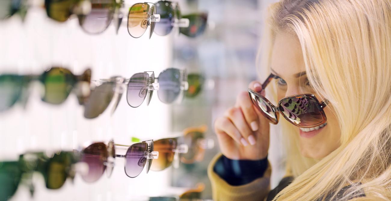 forma di occhiali
