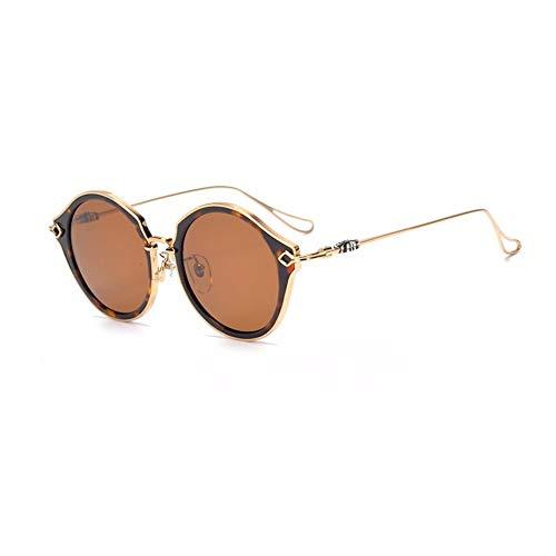 Occhiali con ampia montatura tonda Vintage - 2