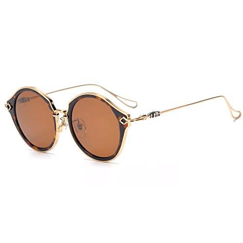 Occhiali con ampia montatura tonda Vintage - 4