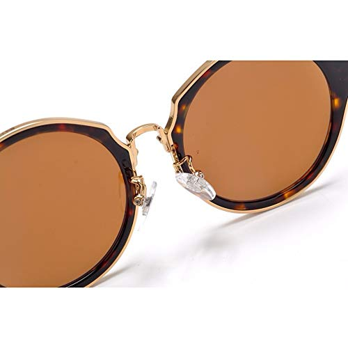 Occhiali con ampia montatura tonda Vintage - 5