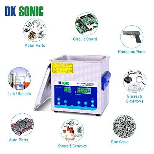 DK SONIC Professionale 2L Pulitore ad Ultrasuoni Digitale - 6