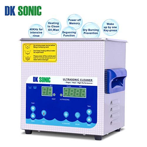 DK SONIC Professionale 2L Pulitore ad Ultrasuoni Digitale - 7