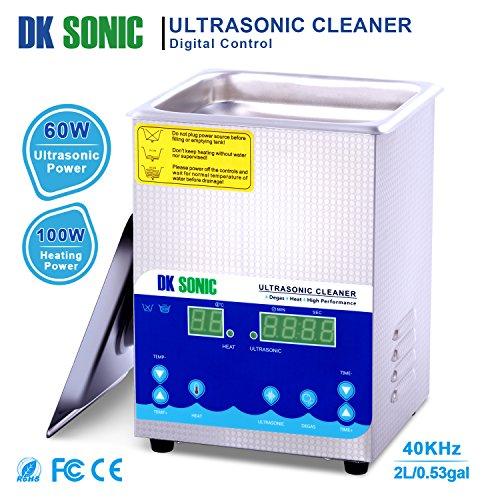 DK SONIC Professionale 2L Pulitore ad Ultrasuoni Digitale - 3
