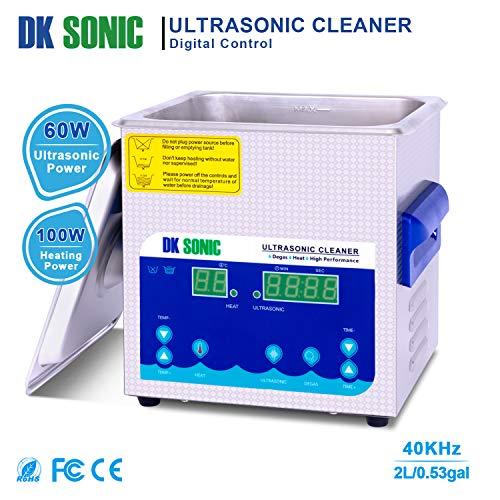 DK SONIC Professionale 2L Pulitore ad Ultrasuoni Digitale - 4