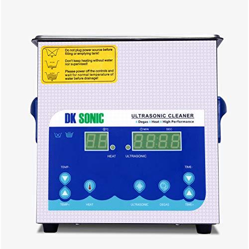 DK SONIC Professionale 2L Pulitore ad Ultrasuoni Digitale - 9