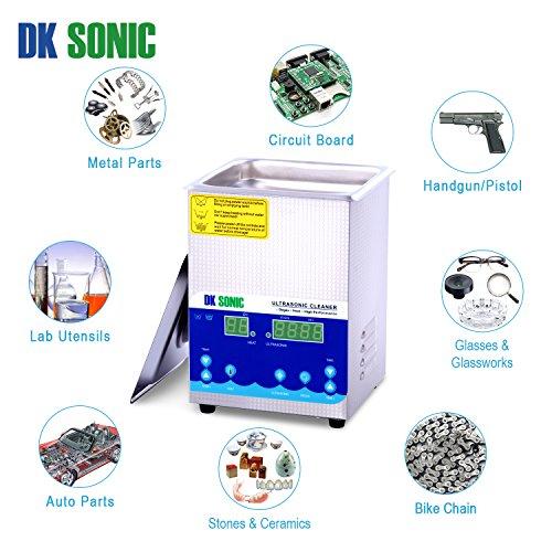 DK SONIC Professionale 2L Pulitore ad Ultrasuoni Digitale - 5